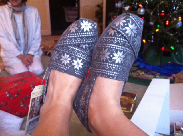New holiday Toms!!