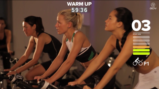 Spin class workouts on youtube!!