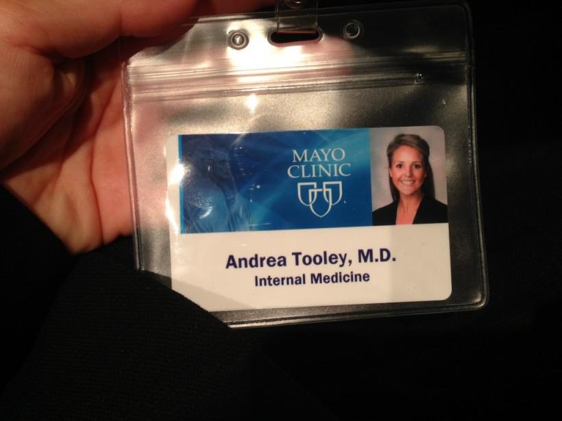 Residency at Mayo Clinic