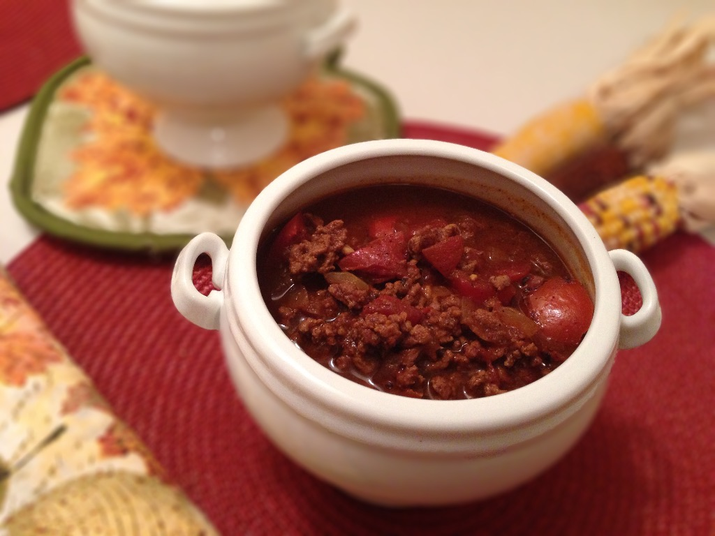 Whole30 Chocolate Crockpot Chili