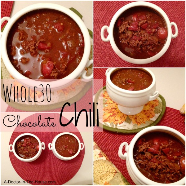 Whole30 Chocolate Chili