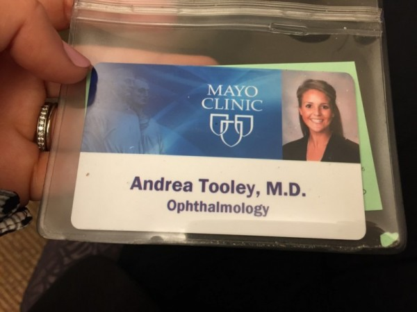 New name tag!