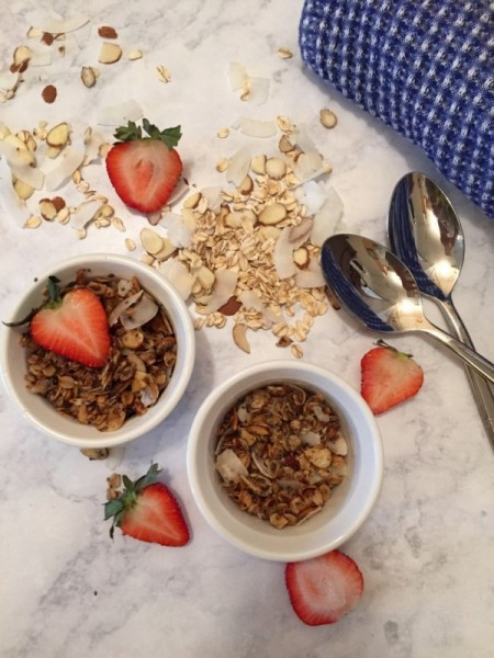 Single Serving Granola Recipe