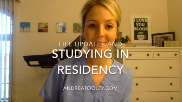 Life Updates and How I Study In Residency!