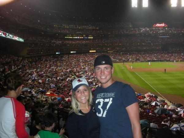 Kyle told me he loved me this night after a Cardinal's game - August 2008.