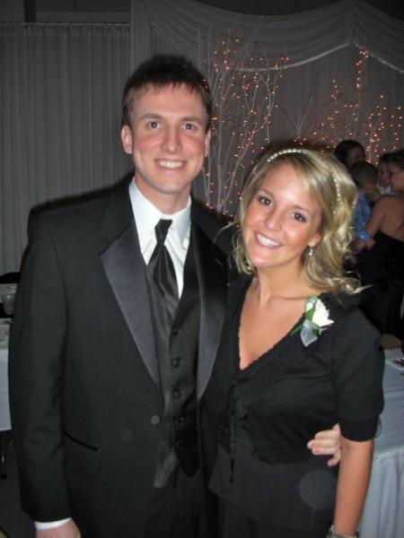 Kyle's sister's wedding