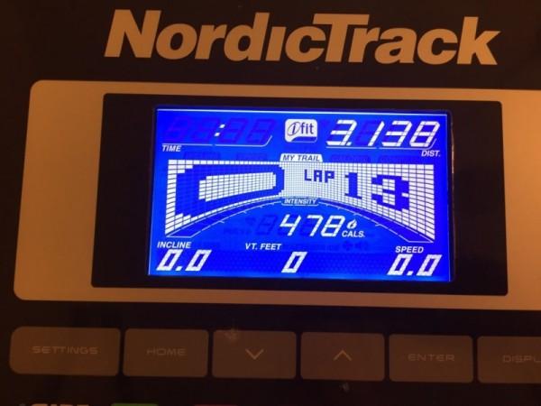 30 minute treadmill runs!
